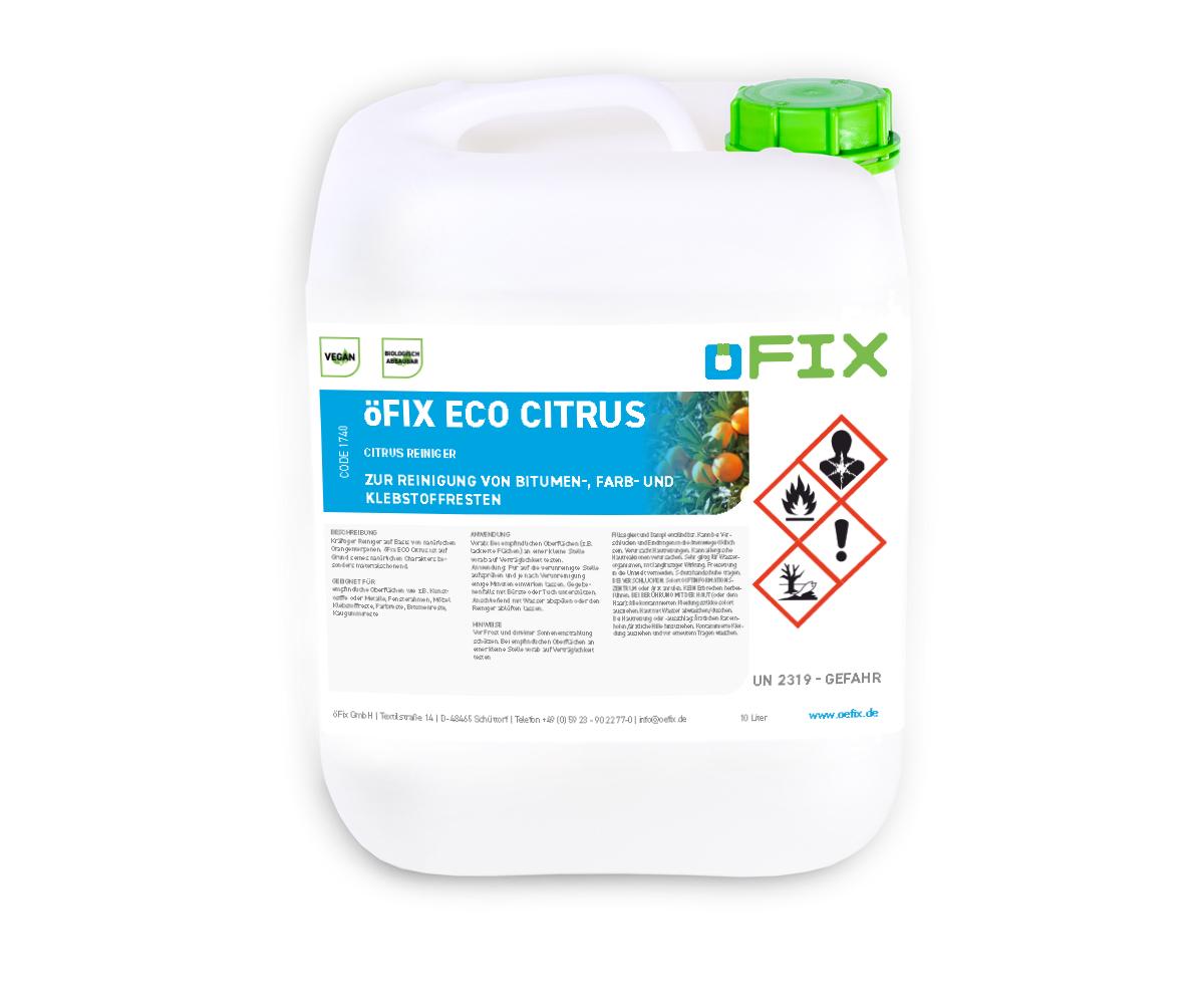 öFix ECO Citrus - 10 Liter Kanister